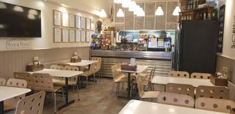 ESTABLISHED CAFE ON HIGH STREET, EDGWARE, LONDON