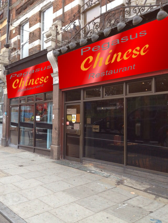 1,600 ft  CHINESE RESTAURANT + ACCOM IN SOUTH WEST LONDON