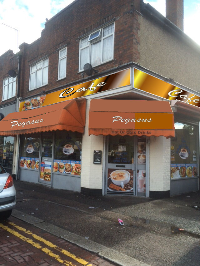CAFE IN CARSHALTON, SURREY