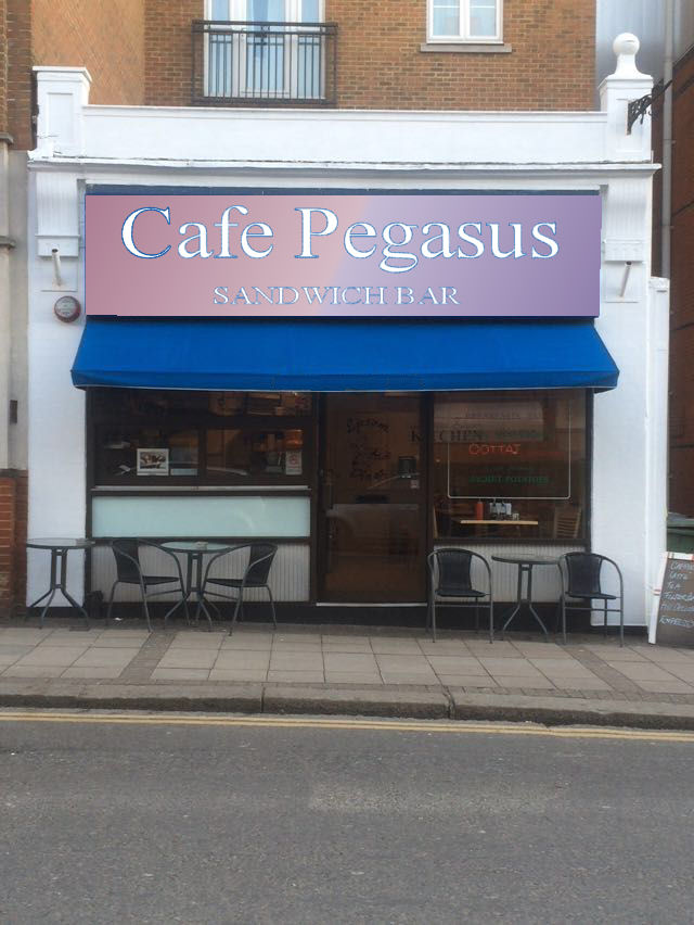 MAGNIFICENT CAFE IN HIGH STREET, SURREY