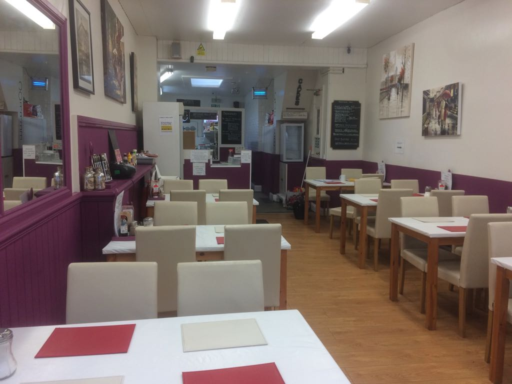HIGH STREET CAFE WITH A3 USE, GOSPORT, HAMPSHIRE