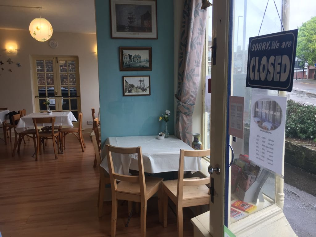 LOVELY CAFE AND RESTAURANT IN HIGH STREET, POOLE, DORSET