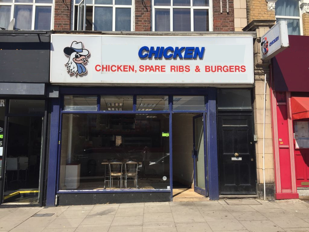 CHICKEN TAKEAWAY, WINCHMORE HILL, N21
