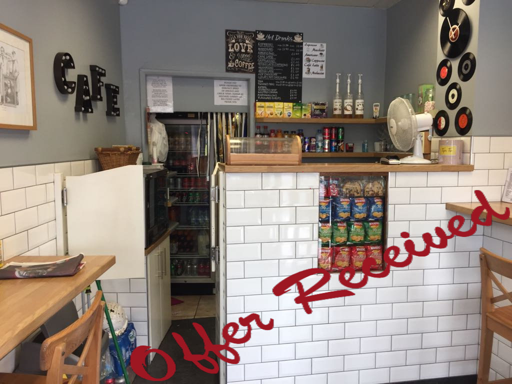 CAFE AND SANDWICH BAR, BOW,  EAST LONDON